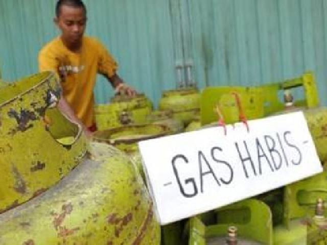 gas habis