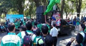 Demo karyawan PT CABOT