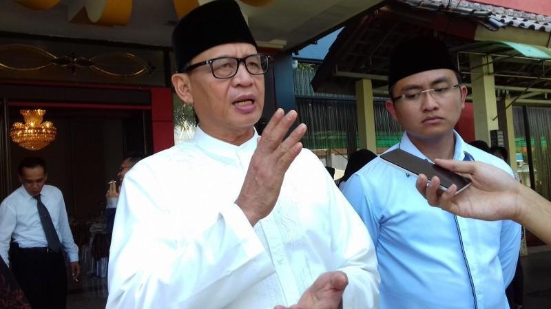 Calon Gubernur Banten, Wahidin Halim Yang Didampingi Calon Wakil Gubernur Banten, Andika Hazrumy
