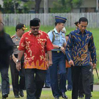 Presidn jokowi menghadiri Muktamar-Al-Khaeriyah-ke-IX. Foto: KD