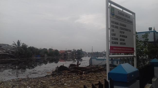 Inilah Lokasi Yang Akan Dibangunnya Destinasi Wisata Rawa Batu Saru Di Kecamatan Batu Ceper, Kota Tangerang. (Foto, BidikBanten)