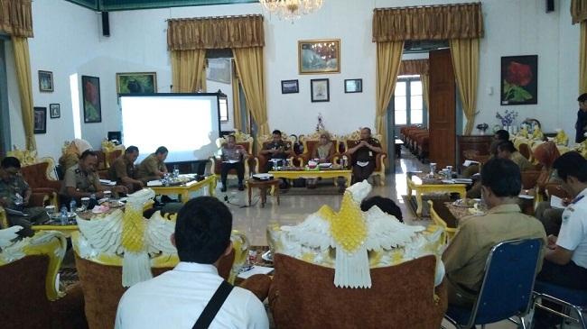 Suasana Rapat Pembentukan Tim