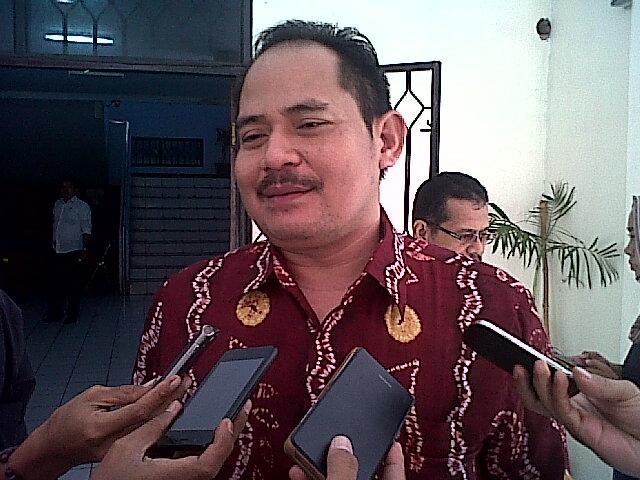 Ketua KPU Kota Cilegon, Fatullah Hasyim. (Foto, BidikBanten)