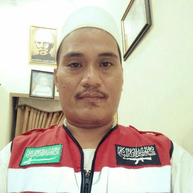 M Ibrohim Aswadi,  ketua Garda PP Alkhairiyah