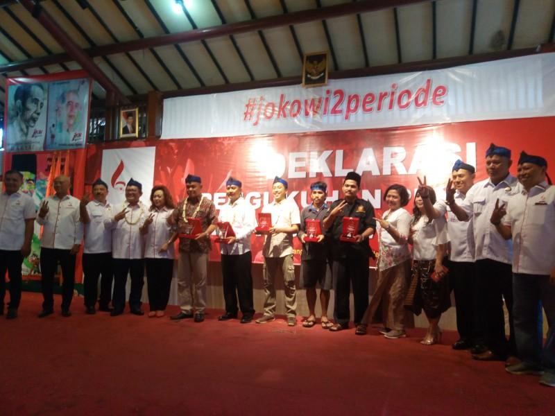 Deklarasi Dukungan Seknas Jokowi