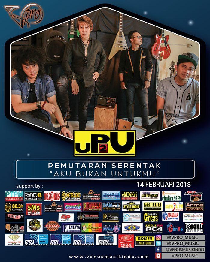 Foto 2 - Poster Promo Lagu 'Aku Bukan Untukmu' UP2U. (Dok. Diatunes Management)-1