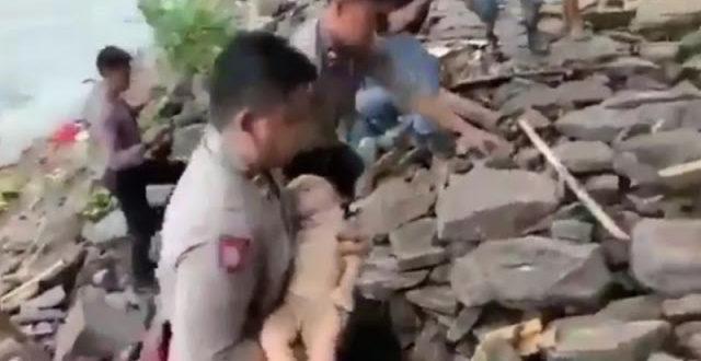 Polisi Selamatkan seorang Bayi