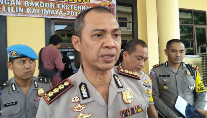 Wakapolda Banten, Kombes Pol Tomex Kurniawan.
