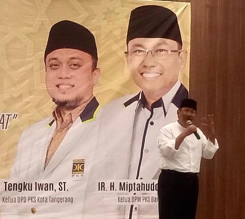 Sekretaris Majelis Pertimbangan Partai (MPP) PKS sekaligus Wakil Ketua Fraksi PKS DPR-RI, DR. MULYANTO M.ENG