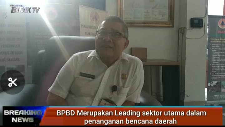 Erwin Harahap, Kepala BPBD Cilegon