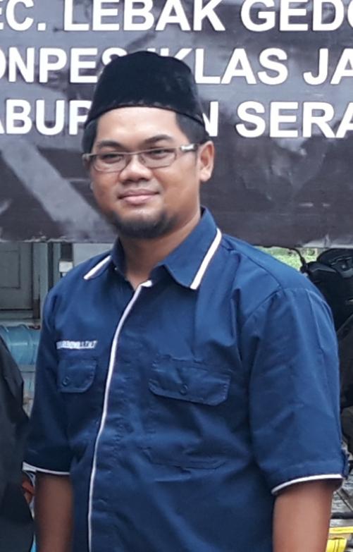 Didik Aribowo,  ST.  MT Ketua Lapesdam NU Cilegon