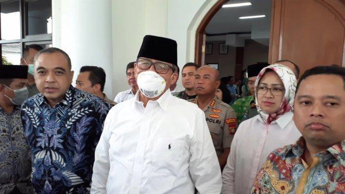 Gubernur Banten di dampingi sejumlah kepala daerah
