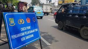 Penerapan Pembatasan Sosial Berskala Besar (PSBB)  di Kota Tangerang