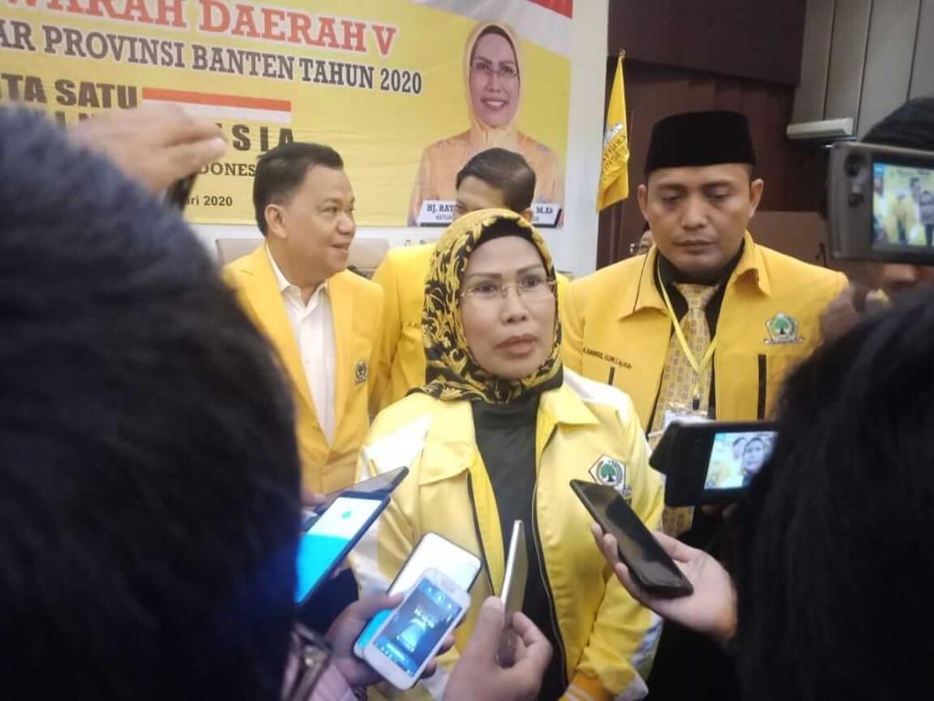 Tatu Chasanah, calon Bupati Serang