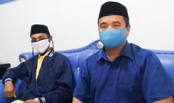 Saifulloh Asas dan Didi Iskandar, pengurus DPD PAN