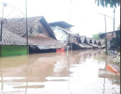 rumah warga kebanjiran