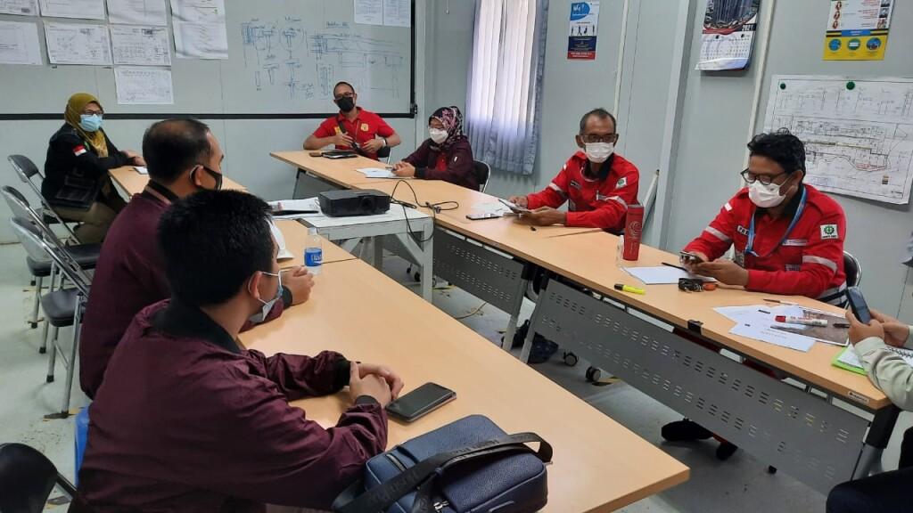 Rapat intenal Pengawas tenaga kerja Disnakertrans Banten