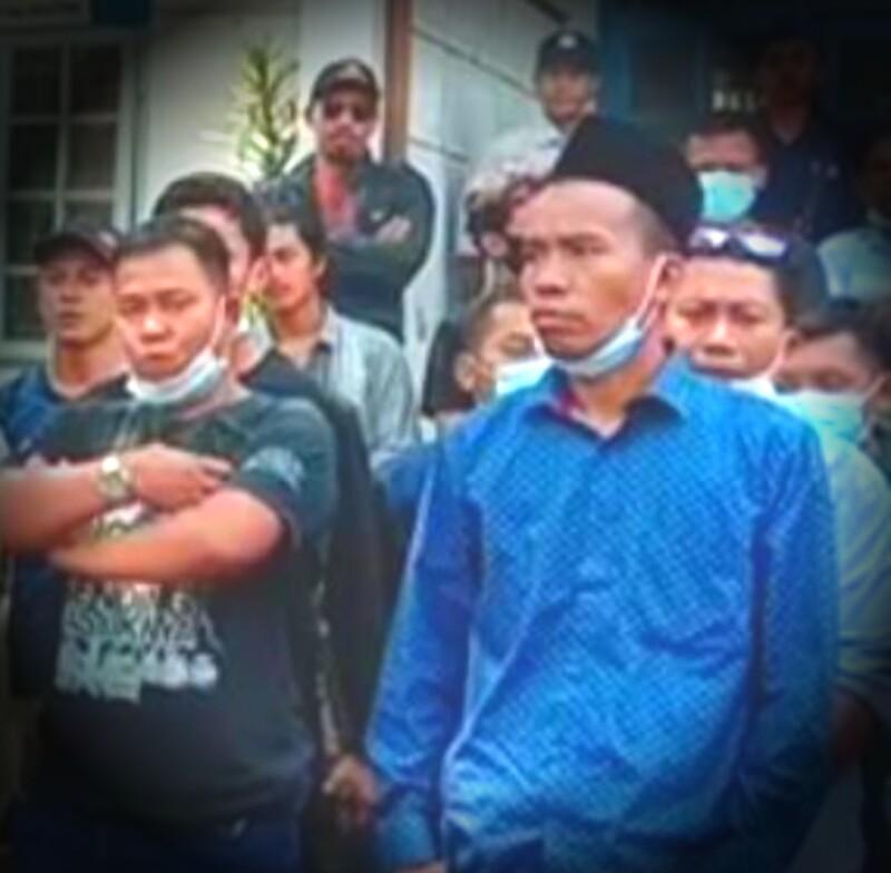 M. Nai, Calon Ketua Karang Taruna Kelurahan Gerem.